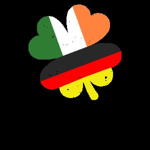 Irland Deutsch Kleeblatt - Patricks Day, Kobold, G