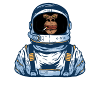 Space Ape Astronaut Limited Edition