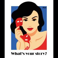 """""""Red Phone"""" von der Künstlerin Ekaterina Moré"""