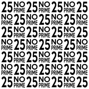 25noprime black