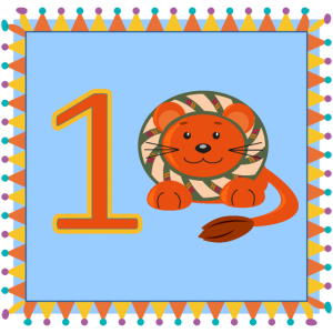 Erster Geburtstag Löwe Baby, Kindergeburtstag