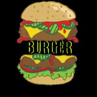Burger Fast food Geschenk