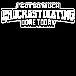 Später Machen Aufschieben Prokrastination