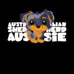 Aussie (Merle & Tan) - DGBigHead