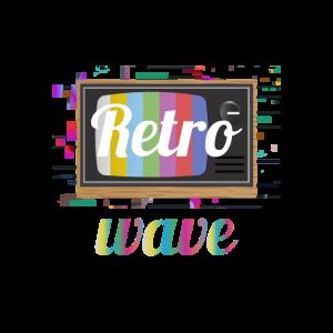 Retro Wave TV Geschenk