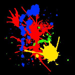 Splatter I