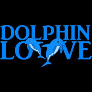 Liebe zu Delfinen Tierliebe