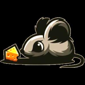 Baby Maus mit Käse