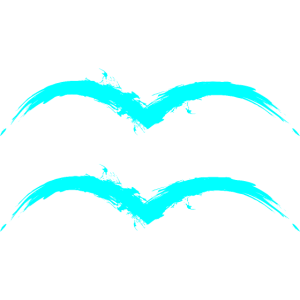 Wassermann Sternzeichen Design Aquarius Türkis