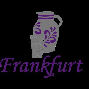 Frankfurt - Bembel - Geripptes