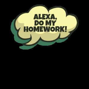 Alexa, mach meine Hausarbeit