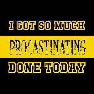 Später Machen Aufschieben Procrastination