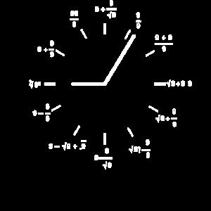 Mathe Mathematische Uhr Lustig