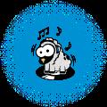 Motif Mouton DJ