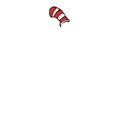 Seuss Thing one Thing two giraffe Tier funny