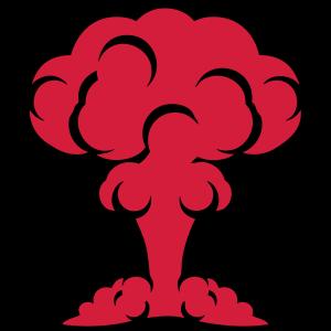 Atom-Nuclear-Pilsen Bombe Explosion