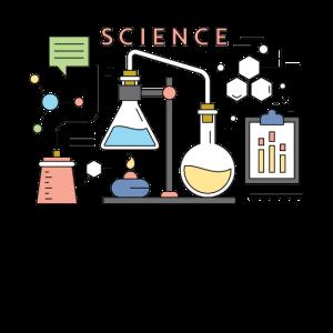 Wissenschaft, Chemie, Student