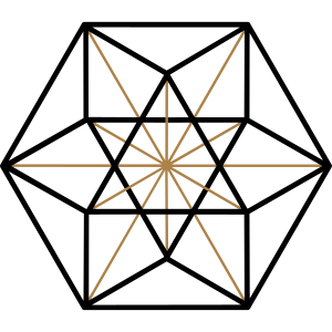 Kuboktaeder, Vektor Gleichgewicht, Metatrons cube