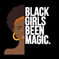 Schönes Black Girls T-Shirt