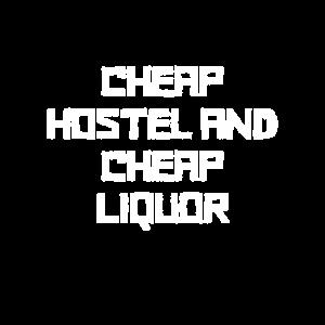 Weltreise Günstiges Hostel und günstiger Alkohol