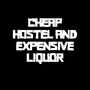 Günstiges Hotel teurer Alkohol