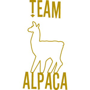 Team Alpaka als Geschenkidee
