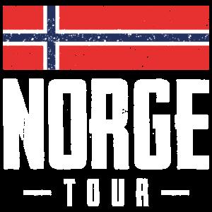 norwegen tour