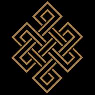 Motiv ~ Tibetanischer Endlos Knoten, Buddhismus