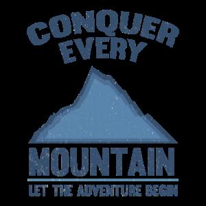 Erobern Sie jedes Berghemd das jeder Bergsteiger