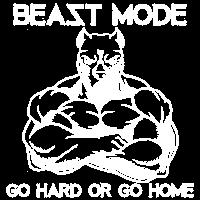 Beast Mode Pitbull GYM Geschenk
