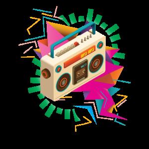 Retro Radio Kassettenrecorder Ghettoblaster