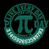 Lebe jeden Tag wie ein Pi-Tag