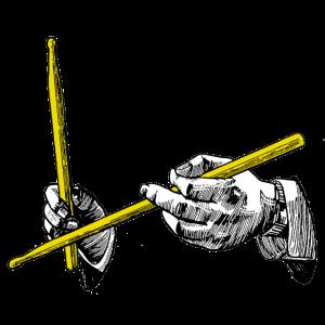 hands & sticks