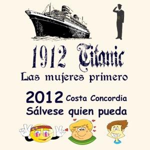 Titanic Las mujeres primero
