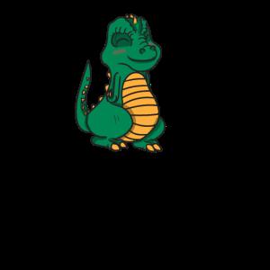 Süßer Dino Dinosaurier T-Rex Geschenk