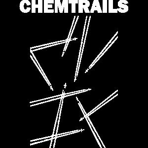 chemtrails Pilot lustig Verschwörung T-Shirt