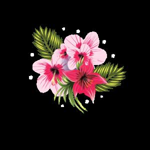 Hübsches Blumen Motiv