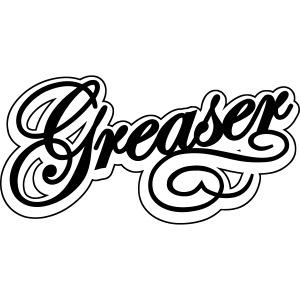 letras greaser convertido
