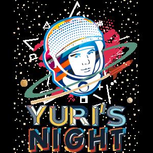 Raumfahrt Juris Nacht Iss Astronaut Juri Gagarin