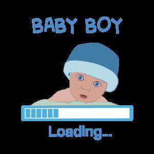 Baby Boy is loading - Geschenkidee für Babyparty