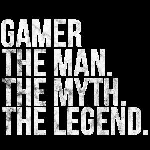 gamer man myth legend