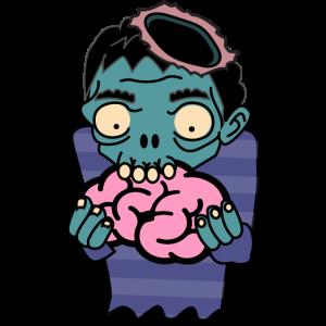 zombie eat brain