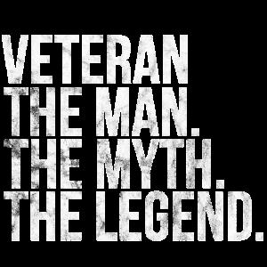 veteran man myth legend