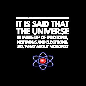 Lustige Protonen Neutronen Idioten Design