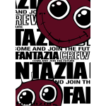 Fantazia Crew newspaper style Smiley