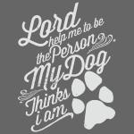 Gott bitte hilf mir das mein Hund mich liebt