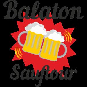 Balaton Plattensee Ungarn Sauftour Shirt