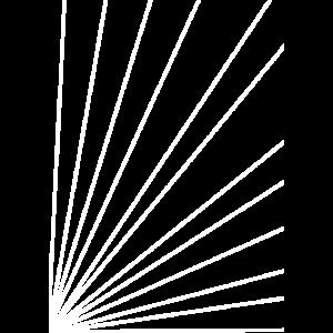 Linien einfach in weiß