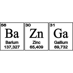 BaZinGa elements