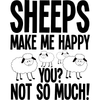 Schafe machen mich glücklich